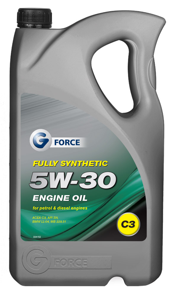 Engine Oils : G-Force GFM105 5W-30 C3 Fully Synthetic Engine