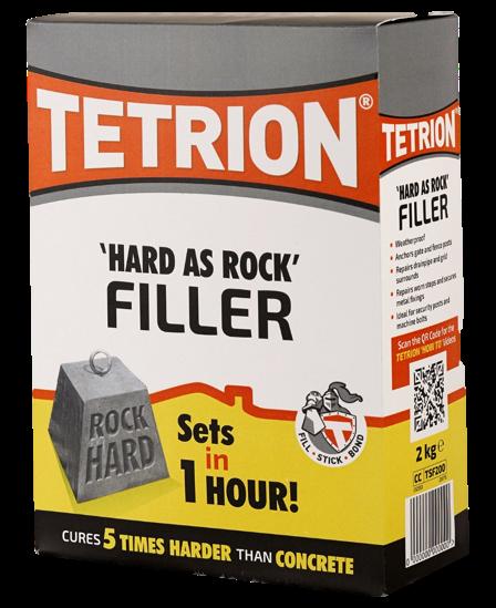 Tetrion Fillers Tetrion 39 Hard As Rock 39 Exterior Filler 2kg