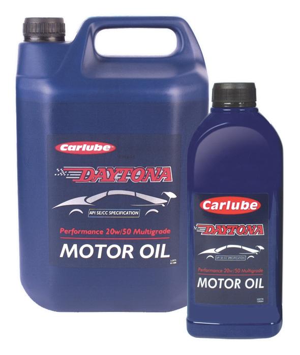 Mineral Engine Oils : DAYTONA 20W50 SE/CC 1LTR
