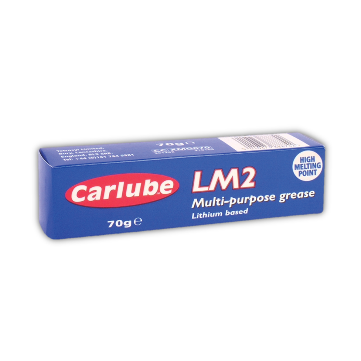 Greases : Carlube XMG070 LM2 Lithium Multi-Purpose Grease 70g