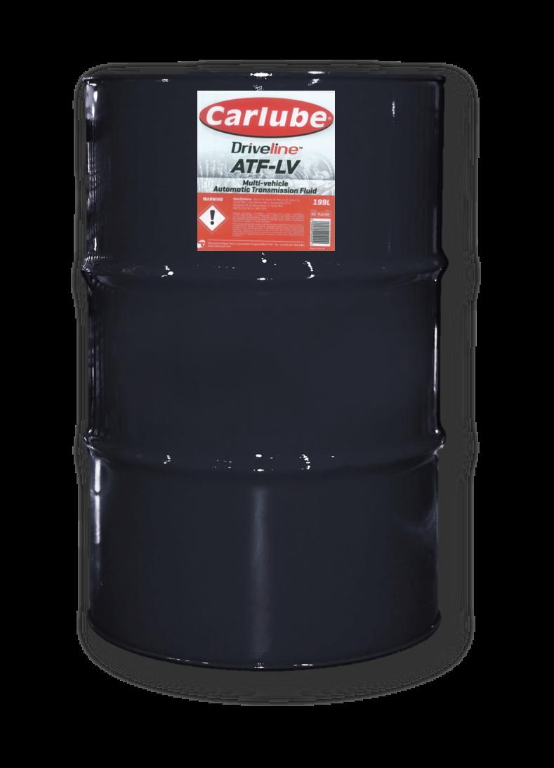 Automatic Transmission Fluid : Carlube Driveline ATF-LV
